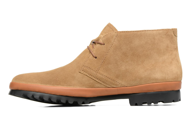 Chaussures à lacets Camper Pegaso 36772 Beige vue face