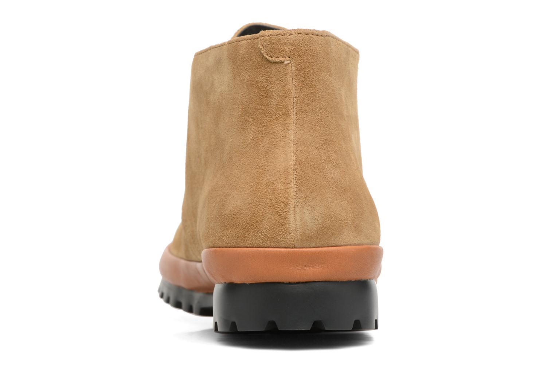 Chaussures à lacets Camper Pegaso 36772 Beige vue droite