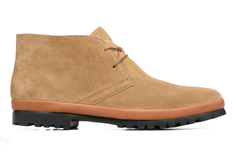 Chaussures à lacets Camper Pegaso 36772 Beige vue derrière