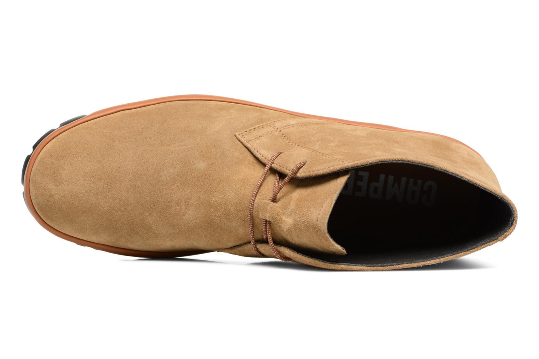 Chaussures à lacets Camper Pegaso 36772 Beige vue gauche