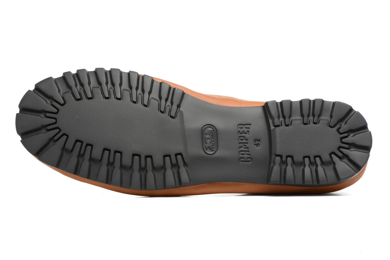 Chaussures à lacets Camper Pegaso 36772 Beige vue haut