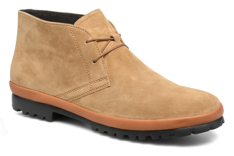 Chaussures à lacets Camper Pegaso 36772 Beige vue détail/paire