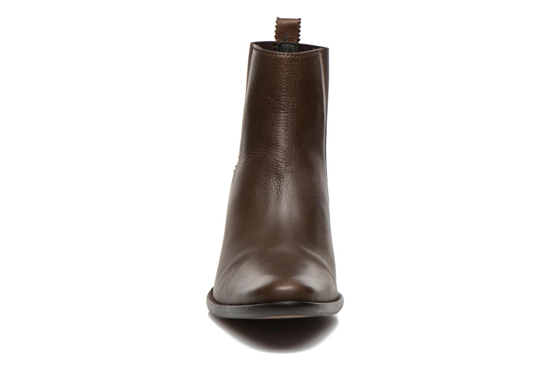Bottines et boots Georgia Rose Semindiana Marron vue portées chaussures