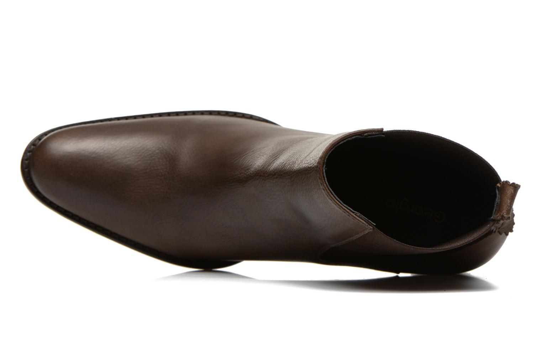 Bottines et boots Georgia Rose Semindiana Marron vue gauche