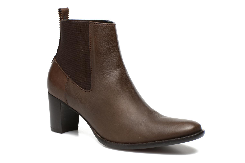 Bottines et boots Georgia Rose Semindiana Marron vue détail/paire
