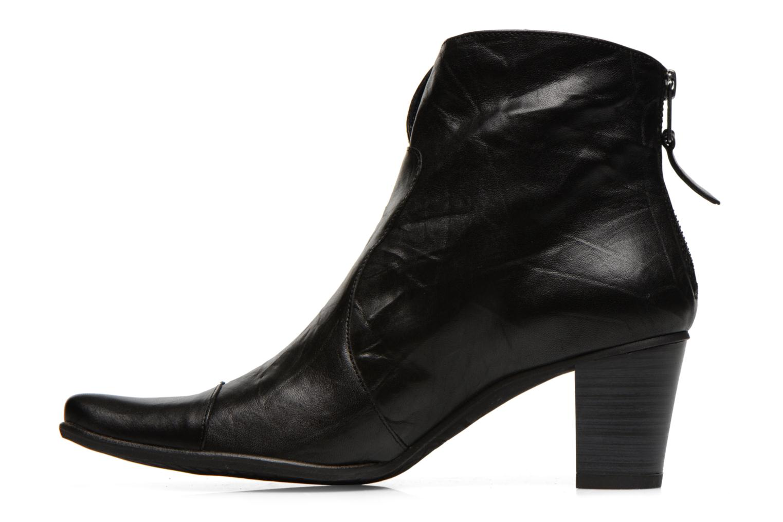 Bottines et boots Dorking DEISY 6034 Noir vue face