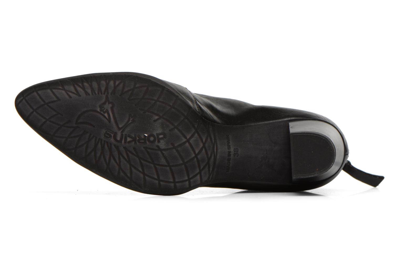 Bottines et boots Dorking DEISY 6034 Noir vue haut