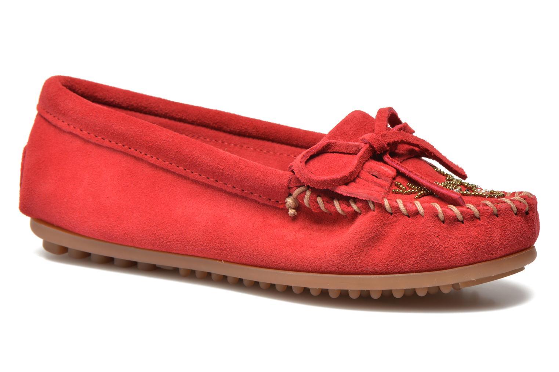 Marques Chaussure femme Minnetonka femme Moko Moc Red