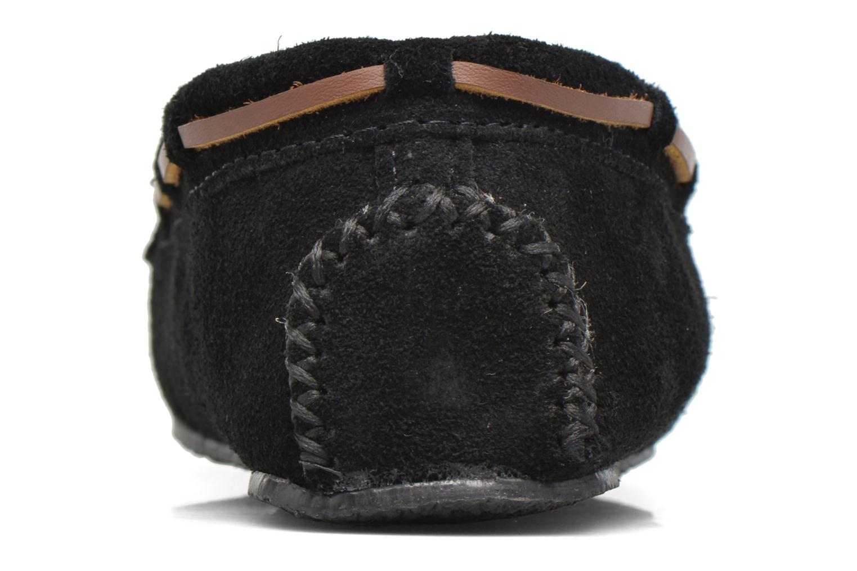 Pantofole Minnetonka Leopard Cally Nero immagine destra