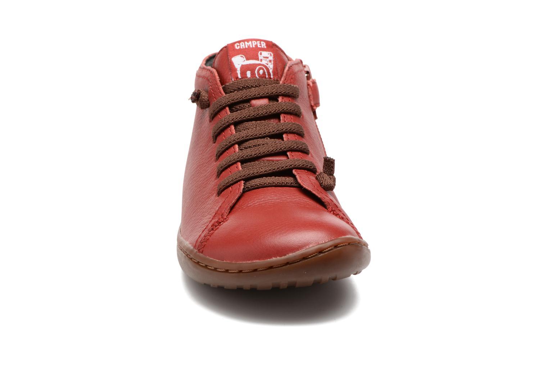 Bottines et boots Camper Peu Cami Kids 2 Rouge vue portées chaussures