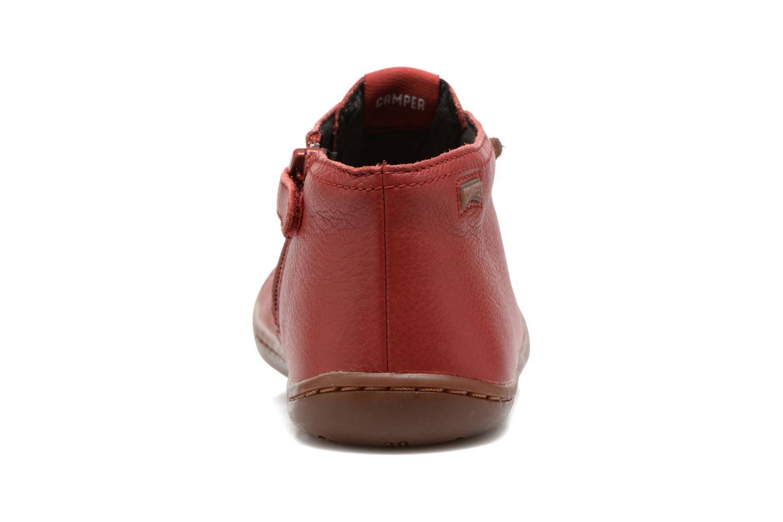 Bottines et boots Camper Peu Cami Kids 2 Rouge vue droite