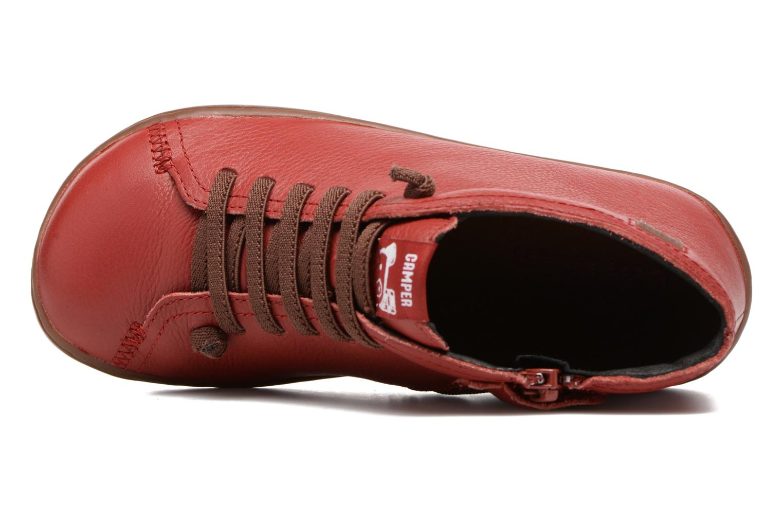 Bottines et boots Camper Peu Cami Kids 2 Rouge vue gauche