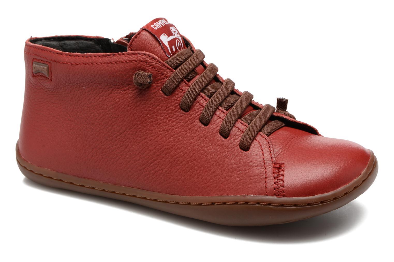Bottines et boots Camper Peu Cami Kids 2 Rouge vue détail/paire
