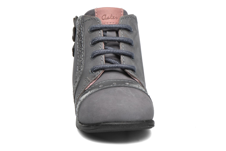 Bottines et boots Aster OFANNA Gris vue portées chaussures