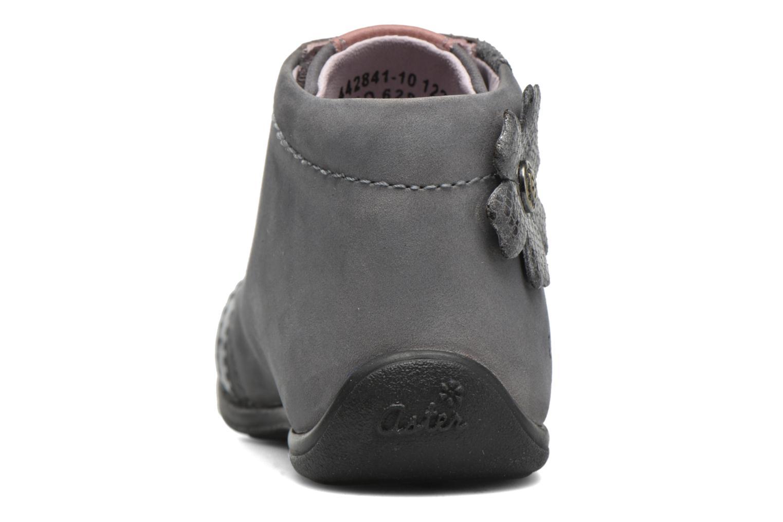 Bottines et boots Aster OFANNA Gris vue droite