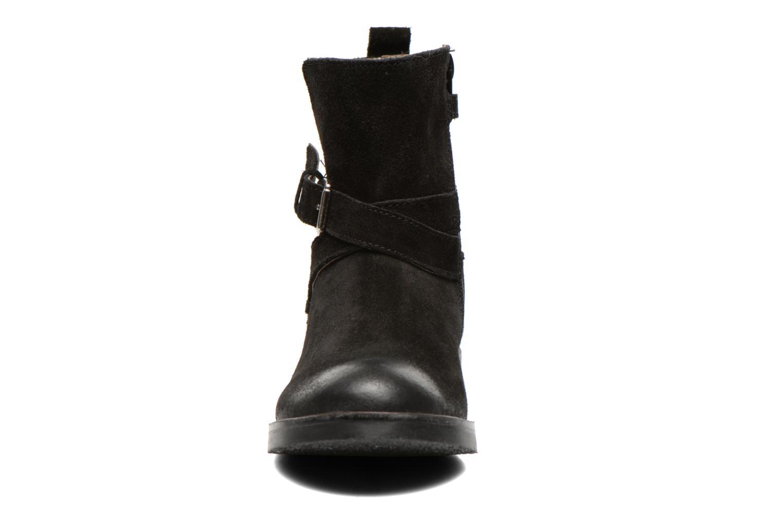 Bottes Aster NINON Noir vue portées chaussures