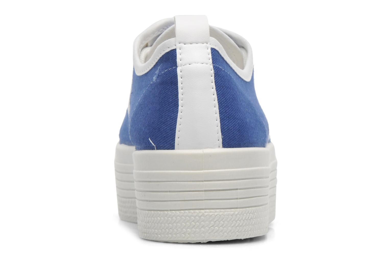 Baskets Ippon Vintage Yuka Casual Bleu vue droite