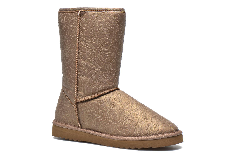 esprit uma boot 011 marron bottines et boots chez sarenza 228581. Black Bedroom Furniture Sets. Home Design Ideas