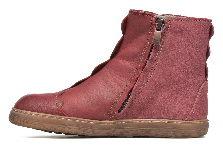 Boots en enkellaarsjes El Naturalista KEPINAE047 Rood voorkant