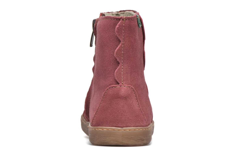 Boots en enkellaarsjes El Naturalista KEPINAE047 Rood rechts
