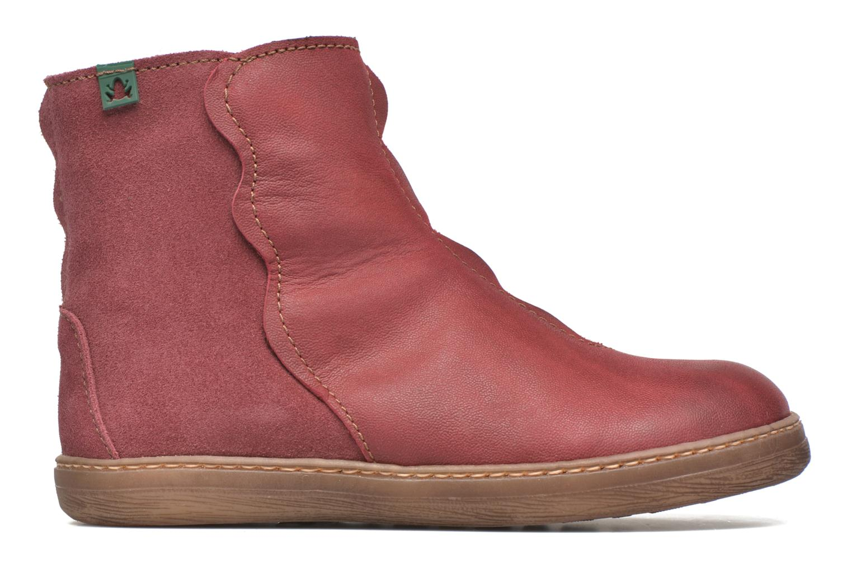 Boots en enkellaarsjes El Naturalista KEPINAE047 Rood achterkant