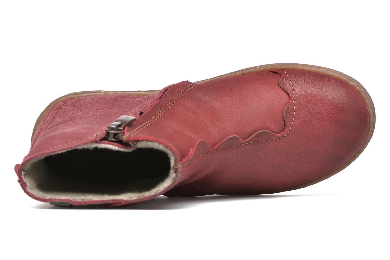 Bottines et boots El Naturalista KEPINAE047 Rouge vue gauche