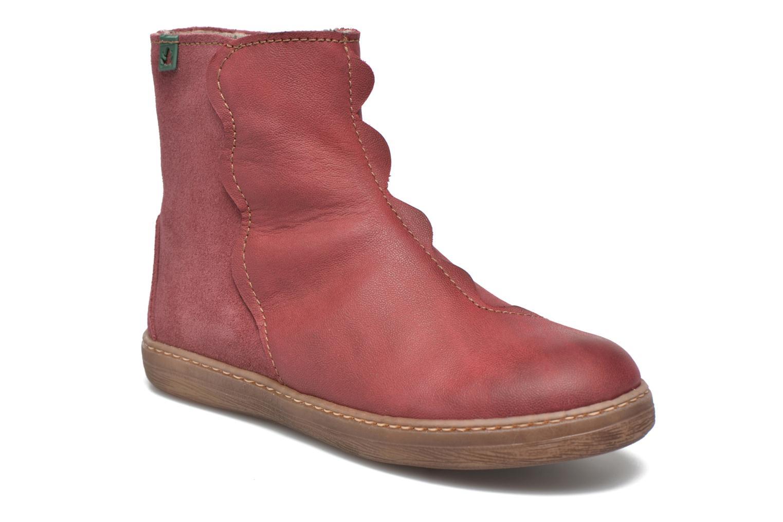 Bottines et boots El Naturalista KEPINAE047 Rouge vue détail/paire
