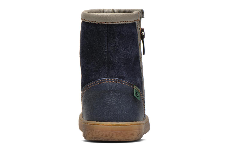 Bottines et boots El Naturalista KEPINA E048 Bleu vue droite