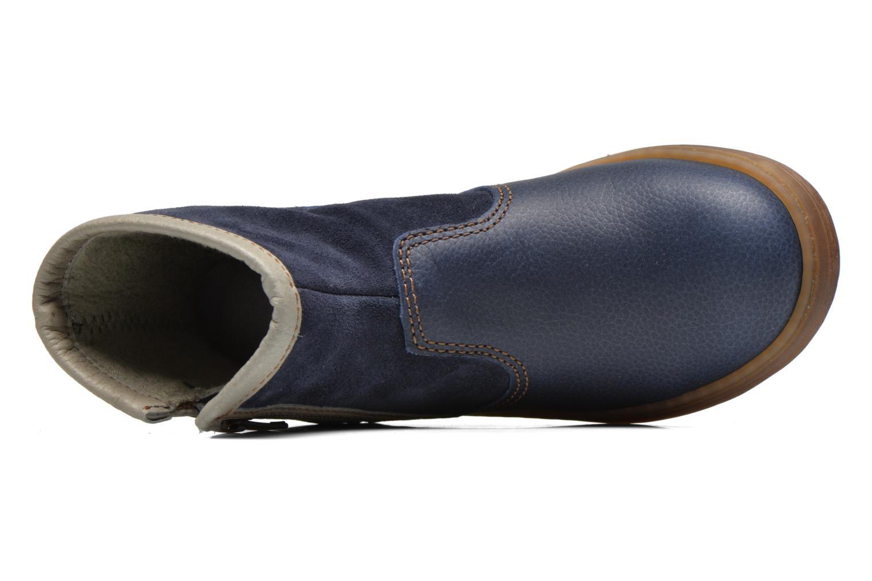 Bottines et boots El Naturalista KEPINA E048 Bleu vue gauche