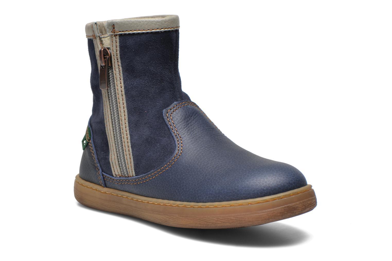 Bottines et boots El Naturalista KEPINA E048 Bleu vue détail/paire
