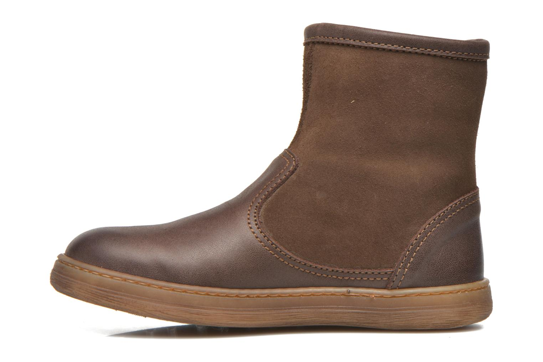 Bottines et boots El Naturalista KEPINA E048 Marron vue face
