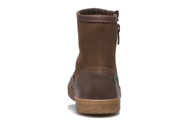 Boots en enkellaarsjes El Naturalista KEPINA E048 Bruin rechts