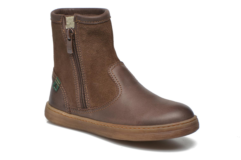 Bottines et boots El Naturalista KEPINA E048 Marron vue détail/paire