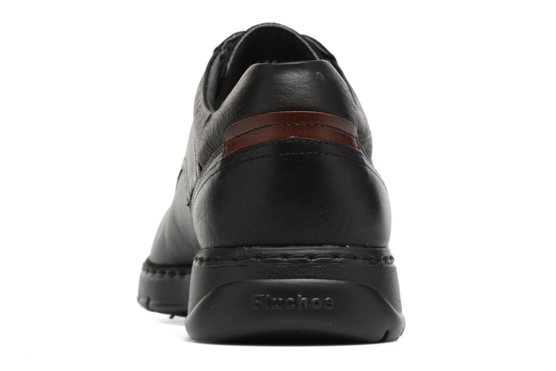 Chaussures à lacets Fluchos Crono 9145 Noir vue droite