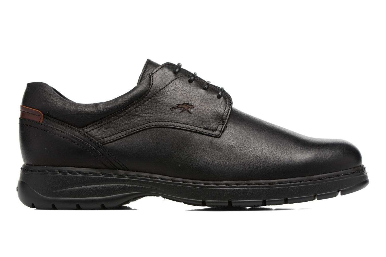Chaussures à lacets Fluchos Crono 9145 Noir vue derrière