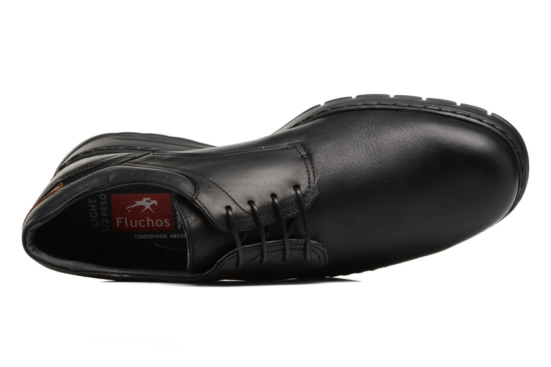 Chaussures à lacets Fluchos Crono 9145 Noir vue gauche