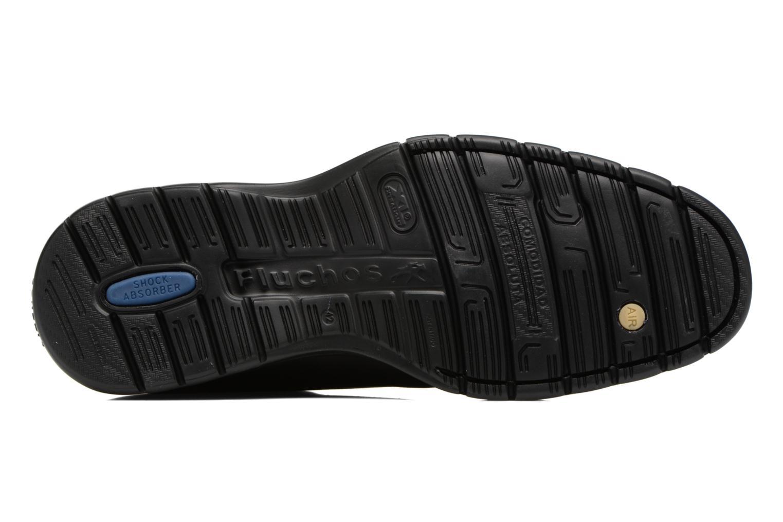 Chaussures à lacets Fluchos Crono 9145 Noir vue haut