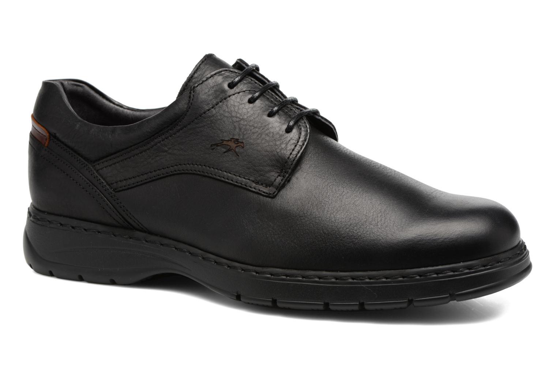 Chaussures à lacets Fluchos Crono 9145 Noir vue détail/paire
