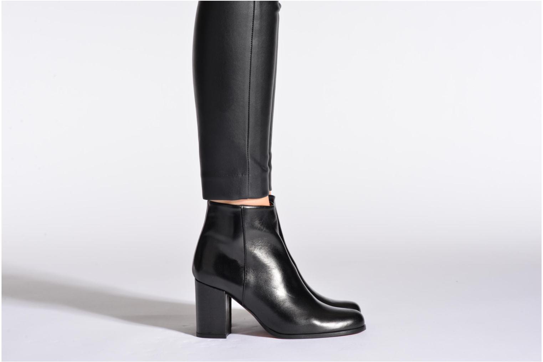 Bottines et boots Elizabeth Stuart Samy 304 Beige vue bas / vue portée sac