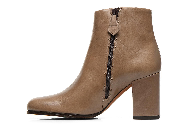 Bottines et boots Elizabeth Stuart Samy 304 Beige vue face