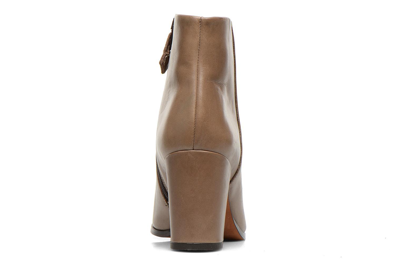 Bottines et boots Elizabeth Stuart Samy 304 Beige vue droite
