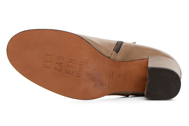 Bottines et boots Elizabeth Stuart Samy 304 Beige vue haut