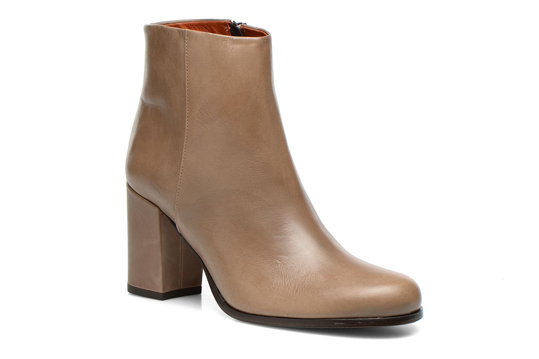 Bottines et boots Elizabeth Stuart Samy 304 Beige vue détail/paire