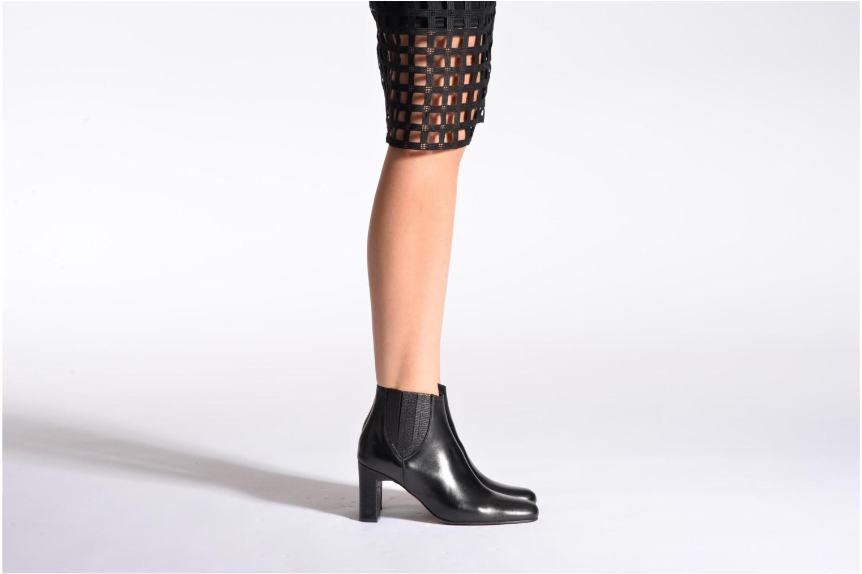 Bottines et boots Elizabeth Stuart Ginny 906 Noir vue bas / vue portée sac