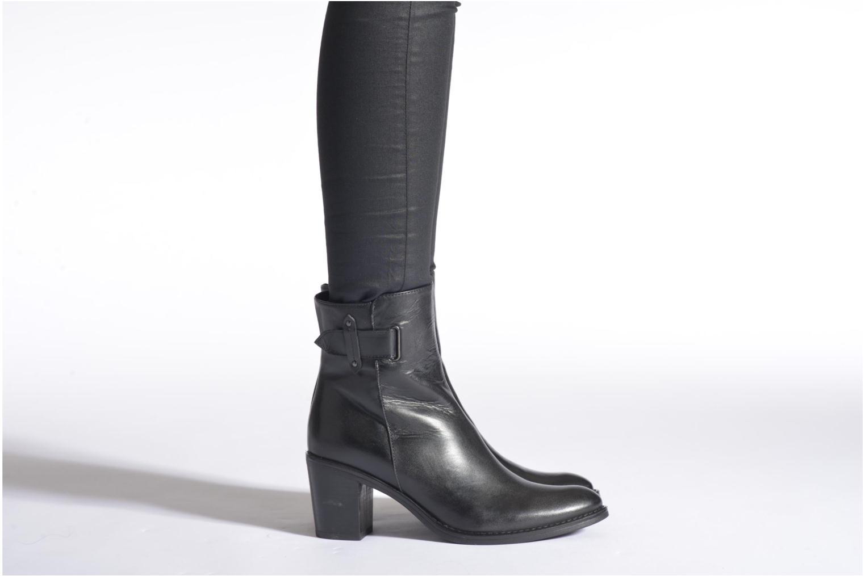 Bottines et boots Elizabeth Stuart Monica 294 Bleu vue bas / vue portée sac