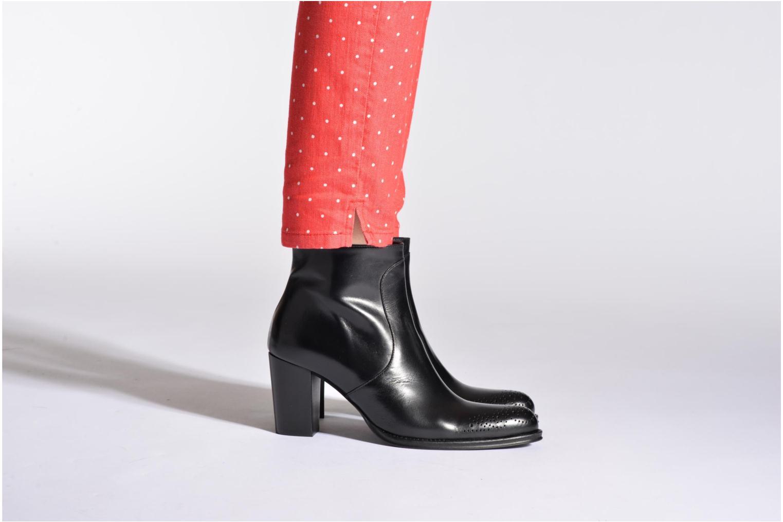 Bottines et boots Muratti Aimos Rouge vue bas / vue portée sac