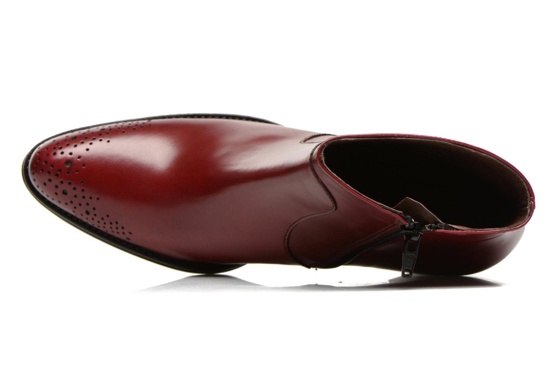 Bottines et boots Muratti Aimos Rouge vue gauche