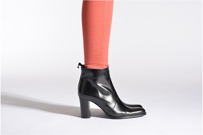Bottines et boots Muratti Electra Noir vue bas / vue portée sac