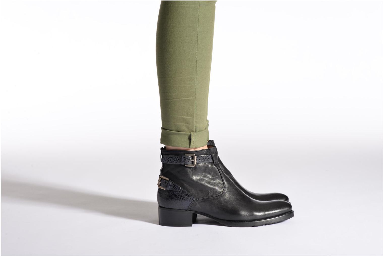 Bottines et boots Muratti Astrid Noir vue bas / vue portée sac
