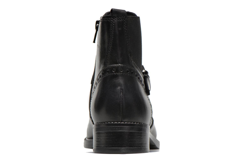 Boots en enkellaarsjes Tamaris Tybety Zwart rechts